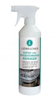 Natursteinreiniger / Specksteinreiniger für Kaminofen Lienbacher 500ml