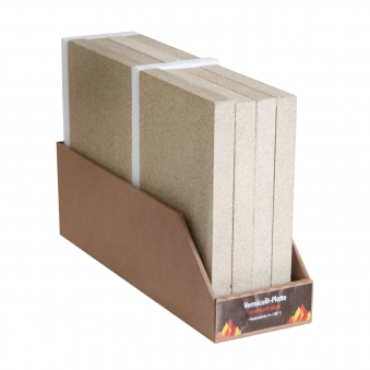 Vermiculite-Platte KaminoFlam Reparatur 1 Stück 300x198x30mm Bild 1
