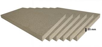 Vermiculite Platten Reparatur Set 6 Stück 500x300x25 mm Bild 1