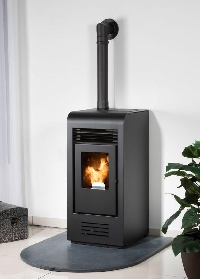 Pelletofen Globe-fire Christoph black 7,5kW Bild 10
