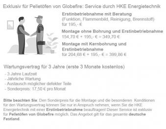 Pelletofen Globe-fire Christoph black 7,5kW Bild 11