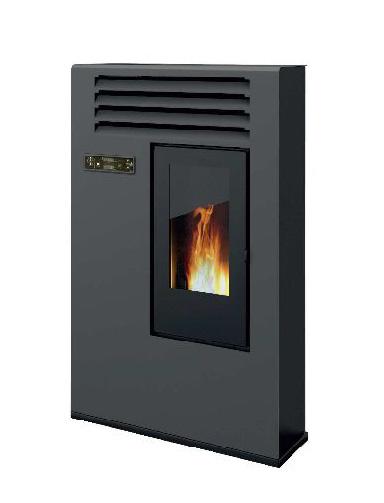 Pelletofen Globe-fire Janice schwarz 6,5kW Bild 1