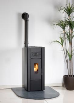 Pelletofen Globe-fire Wiona black 5kW Bild 3