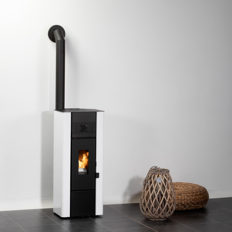 Pelletofen Globe-fire Wiona white 5kW Bild 12