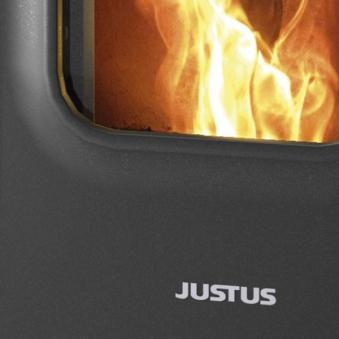 Pelletofen Justus Canis XL Stahl schwarz 8 kW Bild 3
