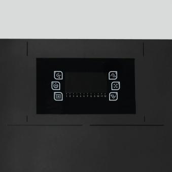 Pelletofen Justus Canis XL Stahl schwarz 8 kW Bild 4