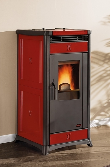 Pelletofen La Nordica Irma bordeaux 10W