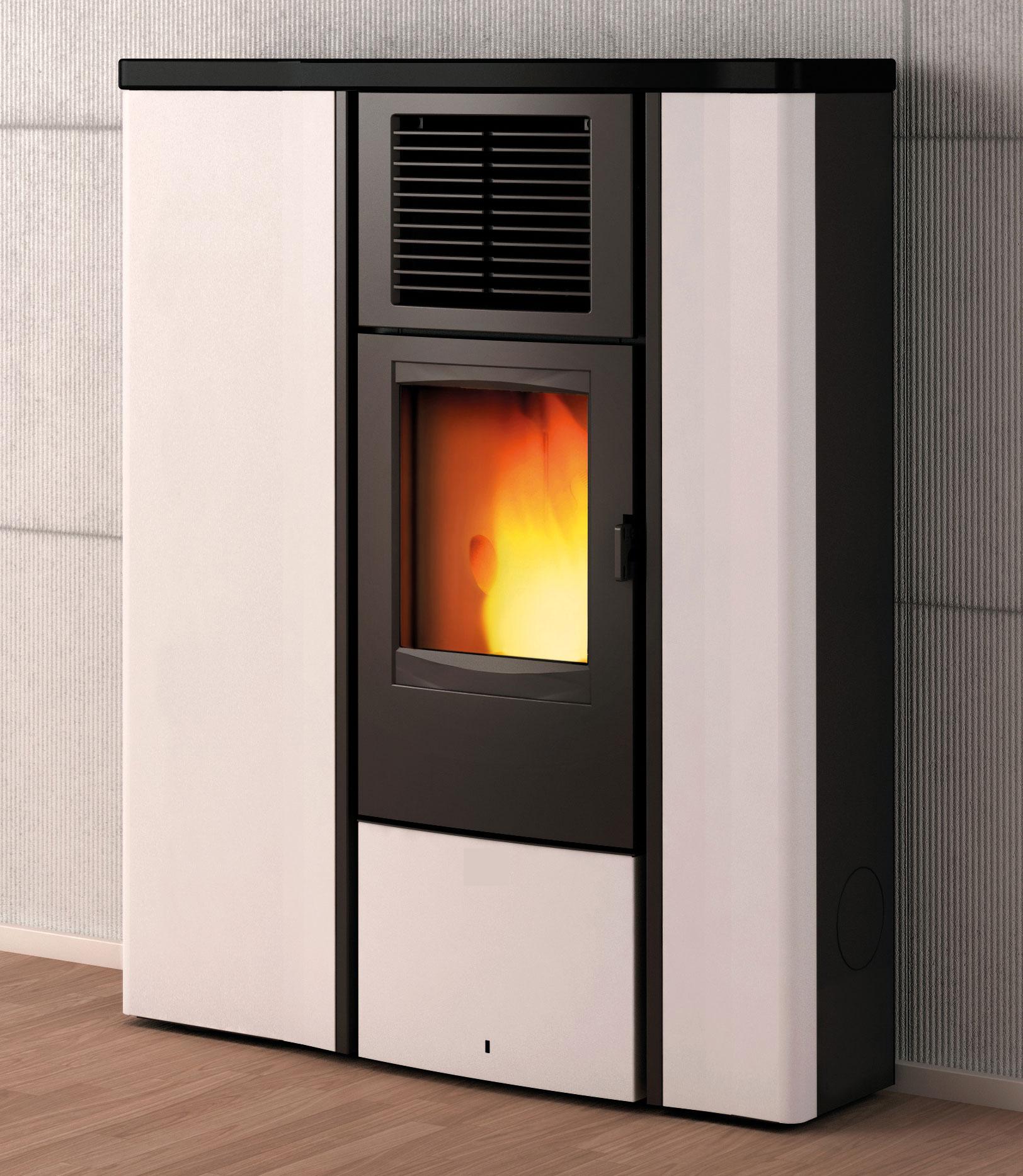 wamsler pelletofen westminster po 90 wei schwarz 8 5kw. Black Bedroom Furniture Sets. Home Design Ideas