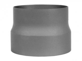 B-Ware Ofenrohr Reduzierung 150 weit auf 180eng grau Bild 2