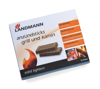 Landmann Grillanzünder / Anzündsticks Grill + Kamin 12 Stück 0140 Bild 1