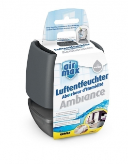 Luftentfeuchter Air Max Ambiance small UHU 100 g anthrazit Bild 1