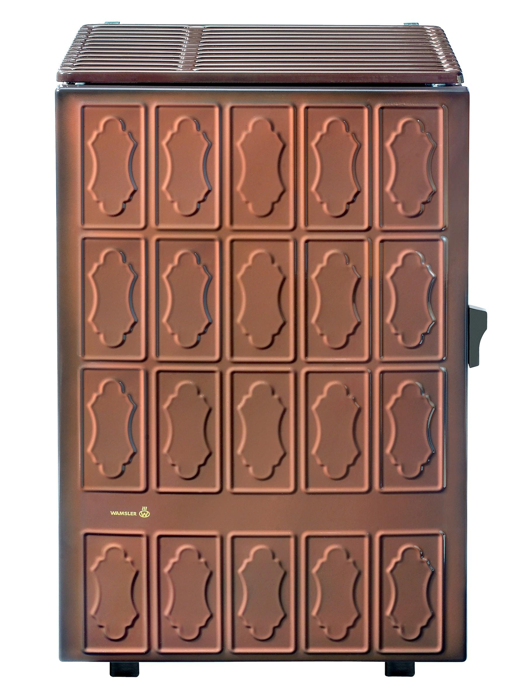 dauerbrandofen kohleofen wamsler ks109 8 maron 8 kw bei. Black Bedroom Furniture Sets. Home Design Ideas