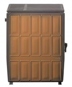 Werkstattofen / Kohleofen Wamsler KS109-6A maron 6 kW Bild 1