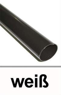 dachrinnen fallrohr 60mm l nge 200cm pvc wei ebay. Black Bedroom Furniture Sets. Home Design Ideas