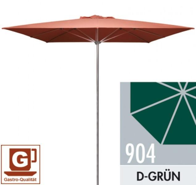gro schirm sonnenschirm doppler gastro clip 300 x 300 cm dunkelgr n ebay. Black Bedroom Furniture Sets. Home Design Ideas