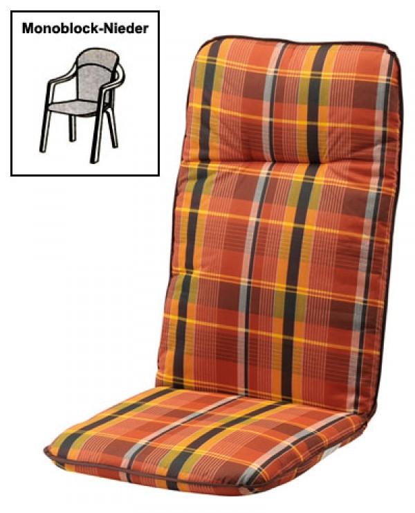 polster auflage f r gartenm bel monoblock nl des basic 24 ebay. Black Bedroom Furniture Sets. Home Design Ideas