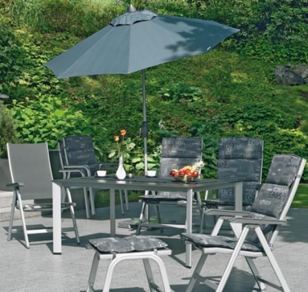 kettler relaxliege basic plus 0301216 000 silber anthrazit alu ebay. Black Bedroom Furniture Sets. Home Design Ideas