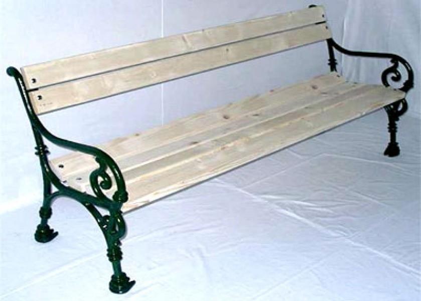 gartenbank parkbank 3 sitzer sch nbrunn gusseisen. Black Bedroom Furniture Sets. Home Design Ideas