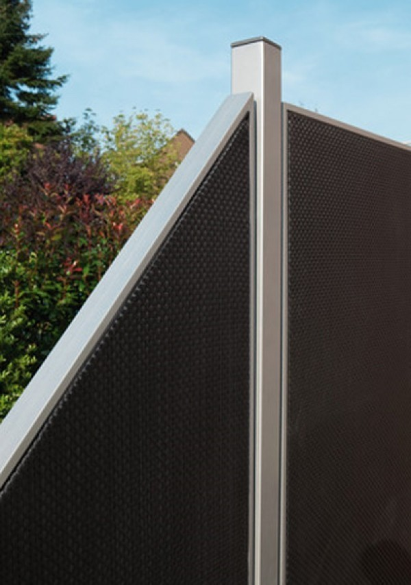 Pfosten Fur Sichtschutz Zaun Webschicht Weave Lux Silber 150 Cm Ebay