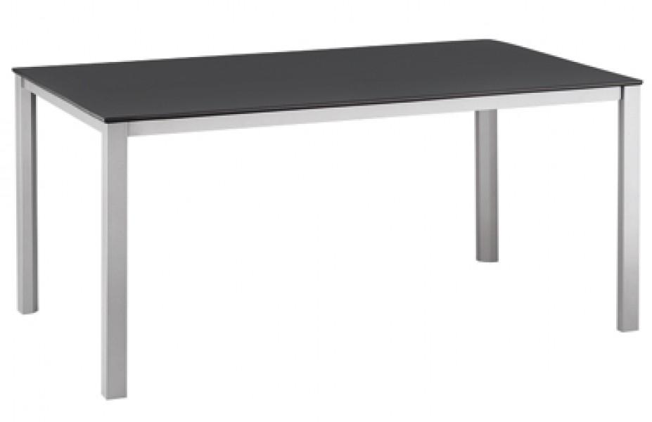 kettler gartentisch loft 0301821 0000 160x95cm silber. Black Bedroom Furniture Sets. Home Design Ideas