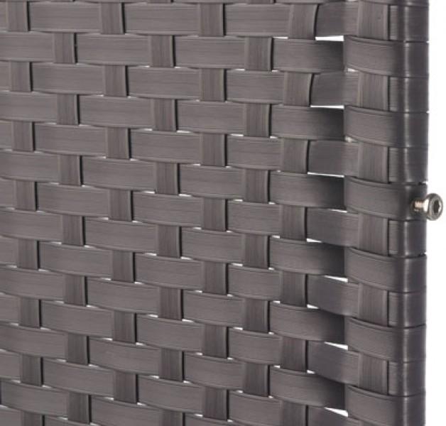 sichtschutz zaun screen graphit kunststoff geflecht 120x180 cm ebay. Black Bedroom Furniture Sets. Home Design Ideas