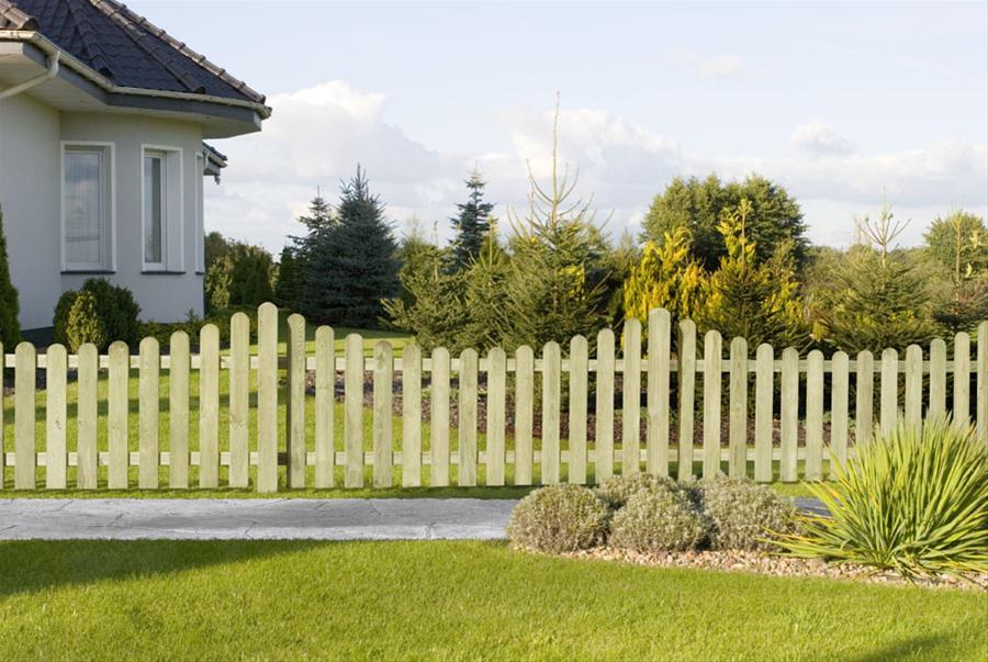 Garten zaun holzzaun bielefeld gerade kdi 180 x 80 cm ebay - Garten holzzaun ...