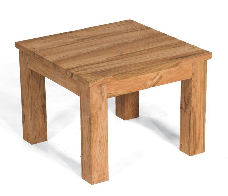 Gartentisch lounge tisch charleston old teak for Lounge tisch