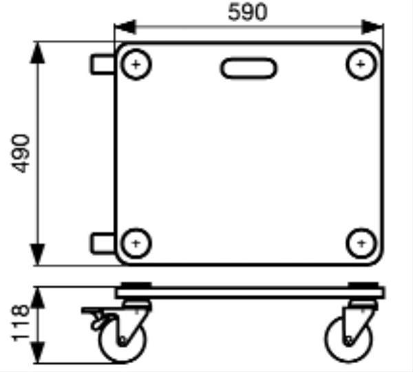 wagner transporthilfe mm 1116 transportroller m belroller 200kg ebay. Black Bedroom Furniture Sets. Home Design Ideas