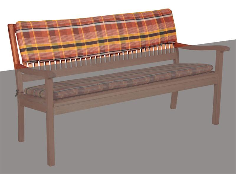 polster auflage f r gartenm bel monoblock hl des basic 24. Black Bedroom Furniture Sets. Home Design Ideas
