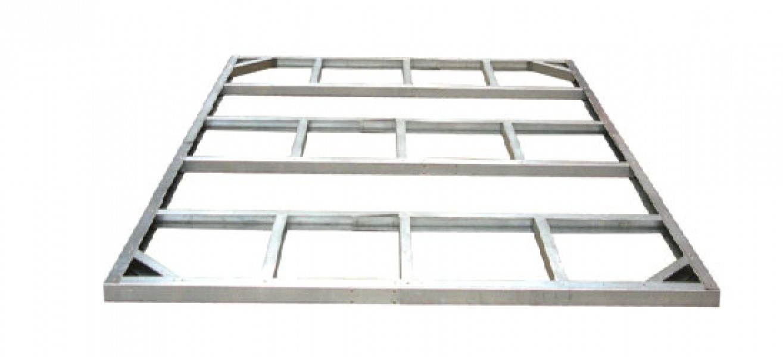 duramax ger tehaus metall pultdach pent roof 8x4 anthrazit 263x124cm ebay. Black Bedroom Furniture Sets. Home Design Ideas