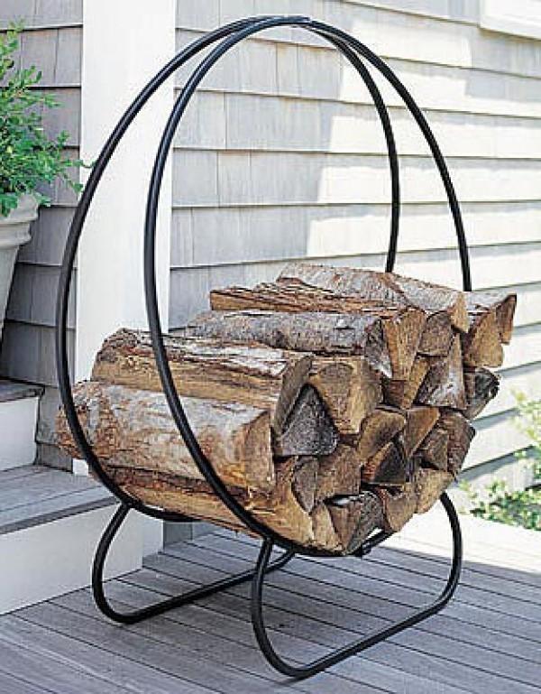 JoeBBQ Kaminholzregal / Brennholzlager Woodplace
