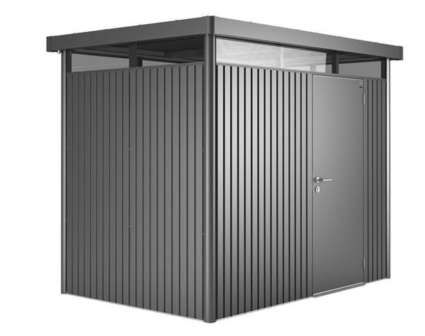 ger tehaus biohort highline h2 dunkelgrau metallic 275x195cm. Black Bedroom Furniture Sets. Home Design Ideas