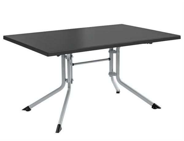kettler gartentisch 0307021 0000 klappbar 160x95cm silber ebay. Black Bedroom Furniture Sets. Home Design Ideas