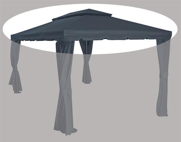 ersatzdach zu siena garden pavillon dubai grau 400x300cm ebay. Black Bedroom Furniture Sets. Home Design Ideas