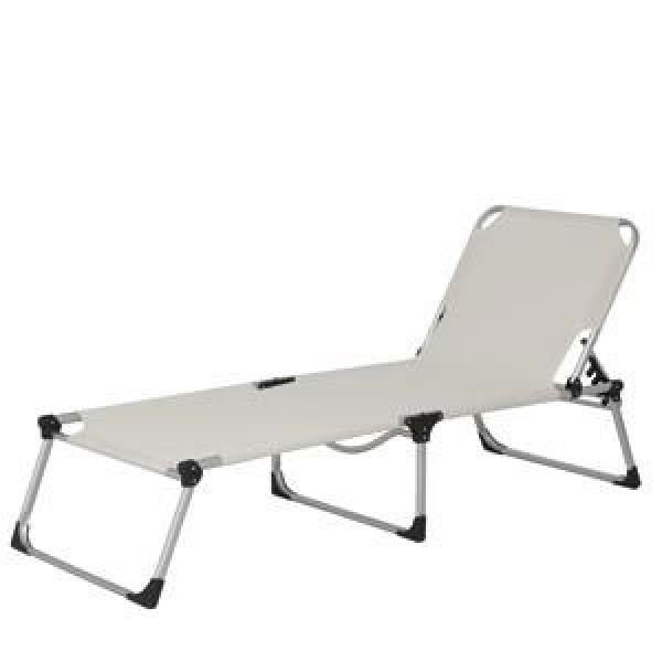 gartenliege sonnenliege stapelbar acamp urban xxl alu platin graphit 4013556568715 ebay. Black Bedroom Furniture Sets. Home Design Ideas