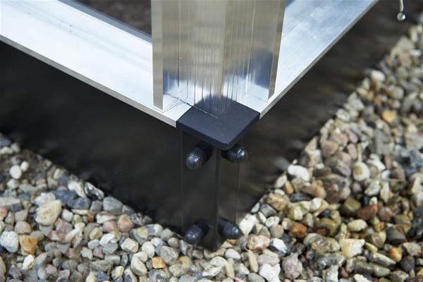 Dachfirstverzierung für Gewächshaus Juliana Kompakt 5,0m²