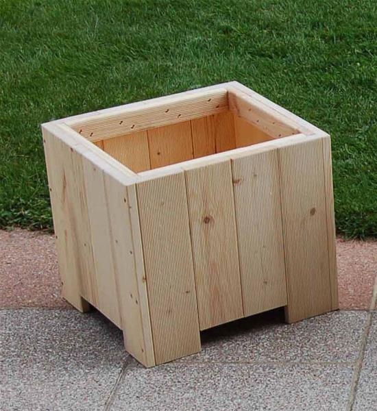 blumenk bel pflanzkasten holz gerbera kdi 80x40x34cm. Black Bedroom Furniture Sets. Home Design Ideas