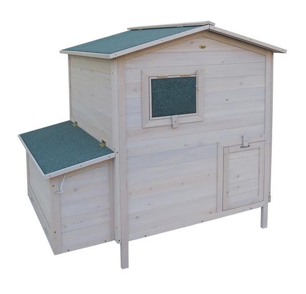kaninchenstall kleintierstall habau bunny 3 grau weiss. Black Bedroom Furniture Sets. Home Design Ideas