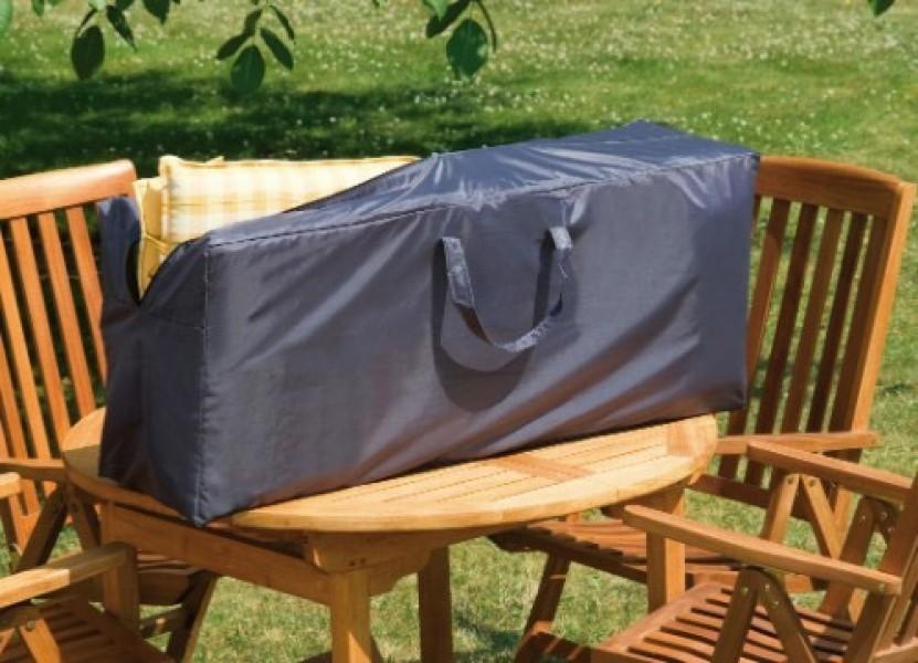 wehncke schutzh lle transporttasche f r 4 auflagen anthrazit ebay. Black Bedroom Furniture Sets. Home Design Ideas