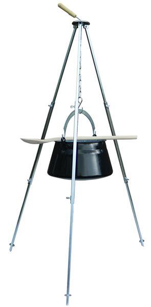 edelstahl schwenkgrill galgengrill 100cm ebay. Black Bedroom Furniture Sets. Home Design Ideas