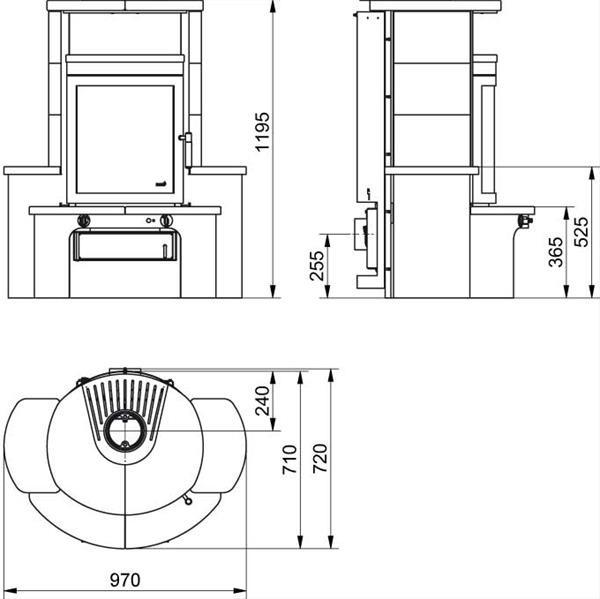 dauerbrandofen hark avenso ecoplus creme wei. Black Bedroom Furniture Sets. Home Design Ideas