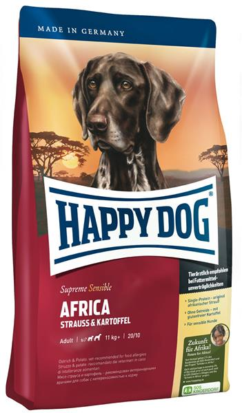 Hundefutter Trockenfutter Happy Dog Supreme Afrika 4kg Getreidefrei 225614