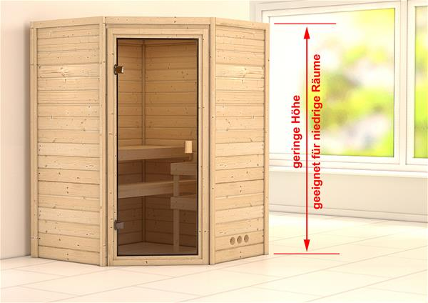 massivholzsauna aurel 38mm ohne ofen classic t r ebay. Black Bedroom Furniture Sets. Home Design Ideas