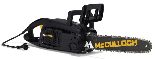 Mcculloch Electric Chainsaw Cse1935s Motor Saw 35 Cm
