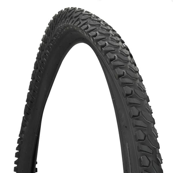 Fischer Fahrradreifen 26x1,75-2,125 - MTB schwarz 60028