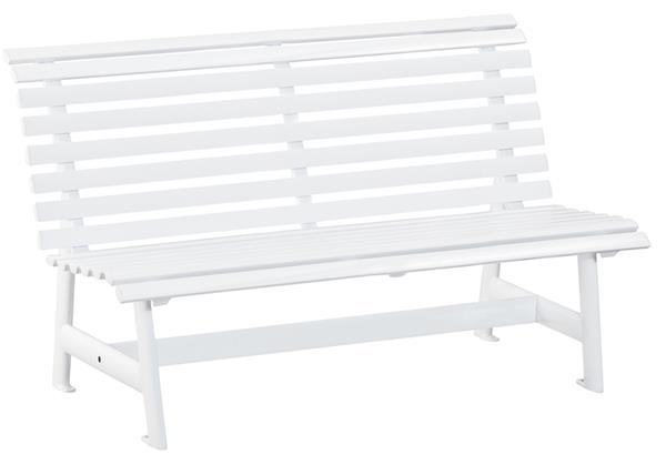 kettler gartenbank 3 sitzer alu zerlegt wei ebay. Black Bedroom Furniture Sets. Home Design Ideas