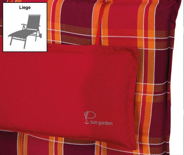 sun garden auflage f r gartenm bel gartenliege inco 90509. Black Bedroom Furniture Sets. Home Design Ideas