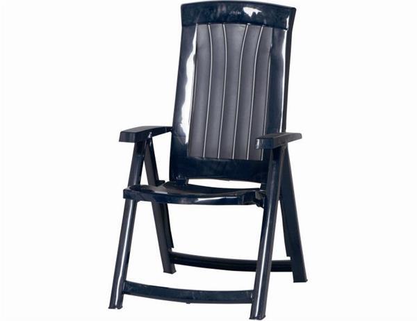 gartenstuhl gartensessel corsica klappbar kunststoff blau ebay. Black Bedroom Furniture Sets. Home Design Ideas