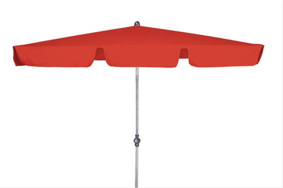 sonnenschirm rechteckig doppler active 180x120 d809 rot 9003034082654 ebay. Black Bedroom Furniture Sets. Home Design Ideas