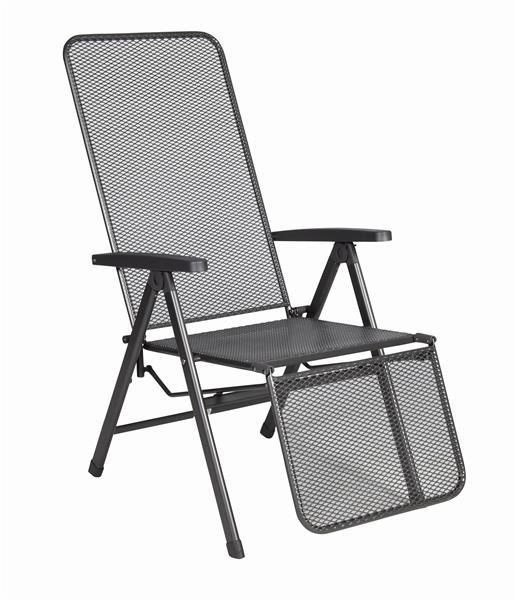 kettler relaxliege basic plus 0301216 7000 anthrazit anthrazit alu ebay. Black Bedroom Furniture Sets. Home Design Ideas